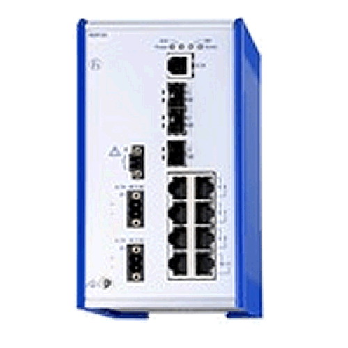 Managed Fast and Gigabit Ethernet RSP Switches