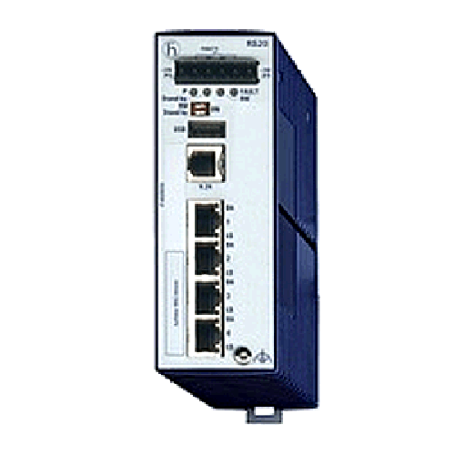 Open Rail Fast Ethernet Endüstriyel Switch 4-25 ports RS20 Serisi
