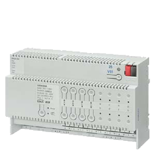 5WG1501-1AB01 Siemens KNX combination blind actuator 4 x AC 230 V 6 A 8 x binary inputs N 501-01