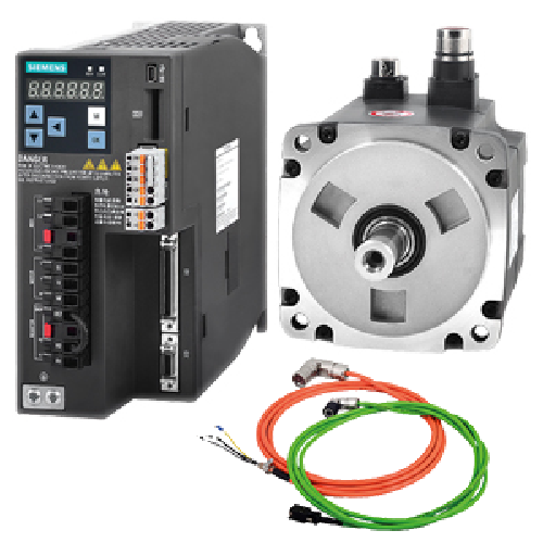 Siemens Sinamics V90 Series Servo Set with Absolute Encoder