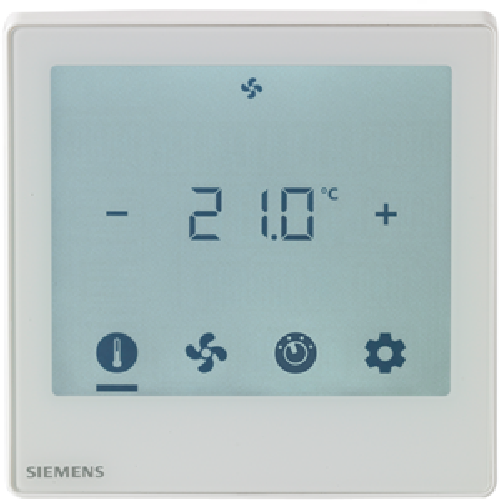 RDF800KN Siemens KNX Touch Screen Room Thermostat with KNX Communications
