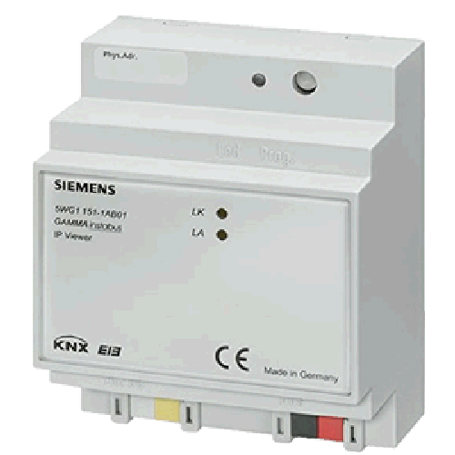 5WG1151-1AB01 Siemens KNX IP Viewer N151