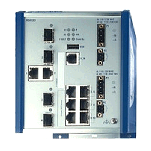 Ruggedized DIN Rail Ethernet Switch