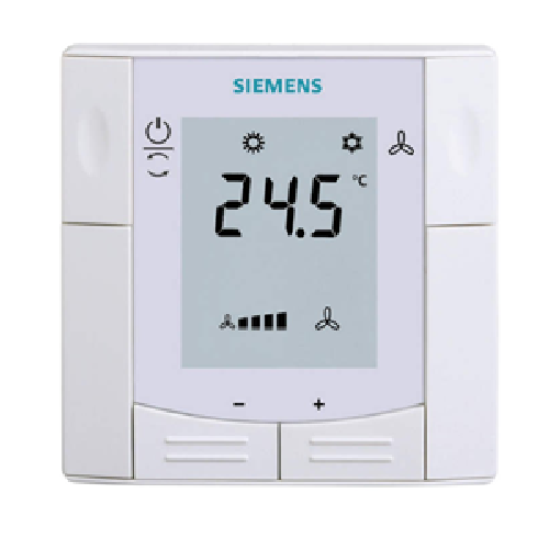 RDU341 Siemens KNX Semi Flush-Mount Room Thermostat
