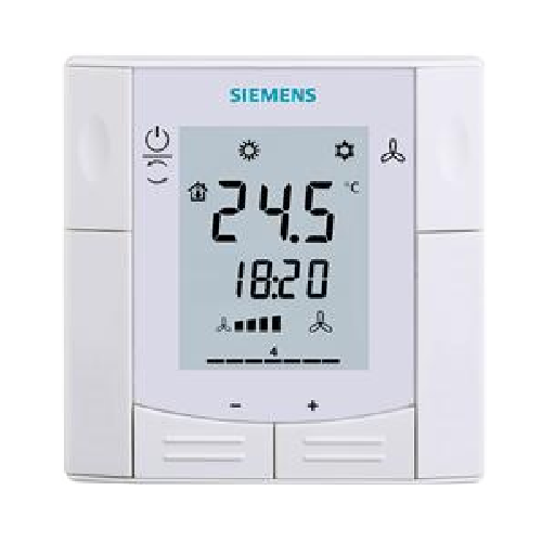RDF301.50H Siemens KNX Semi Flush Mount Room Thermostat