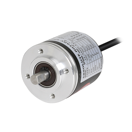 EP50S Series 50 mm Single-Turn Absolute Rotary Encoders (Shaft Type)