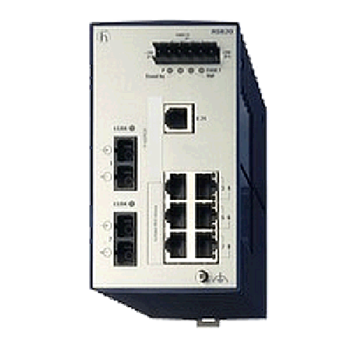 RSB Series Basic Industrial Ethernet DIN Rail Switches