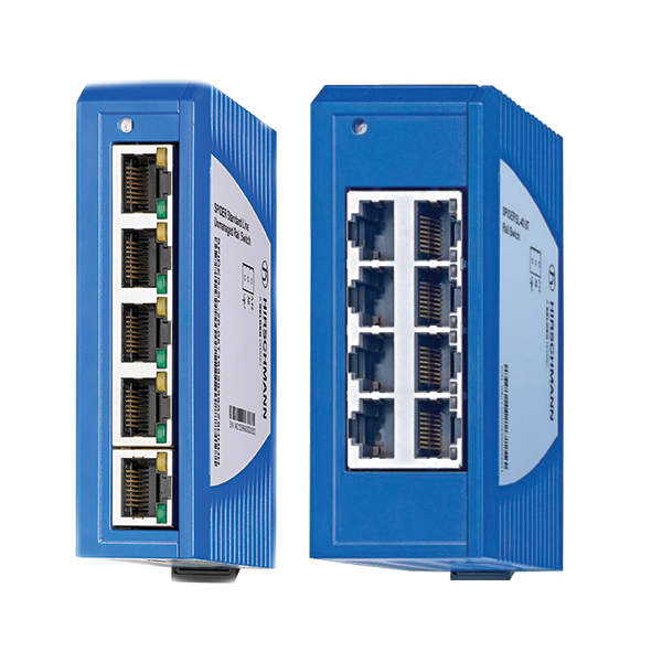 Spider Series - Unmanaged Industrial Ethernet Switches